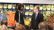 Photos: First Lady Michelle Obama appears in Springfield
