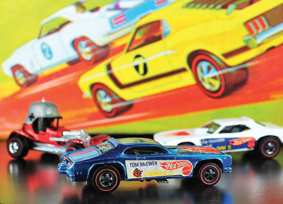 Hot Wheels and Matchbox cars will be on display, with multiple Hot Wheel tracks set up for racing at Hot Wheels Day Sunday, March 3, at Shiloh United Methodist Church in Hagerstown.