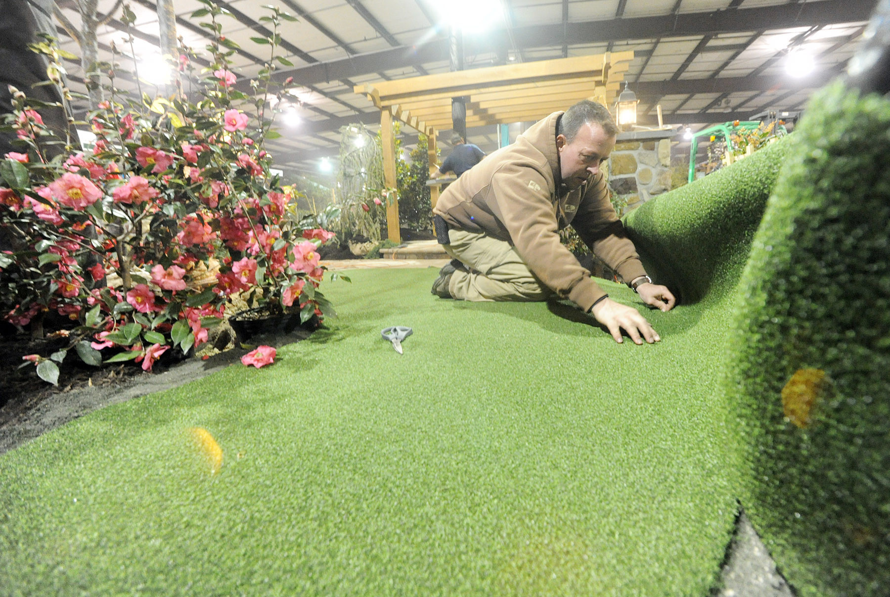 Preparing For The Home And Garden Show Pictures Baltimore Sun