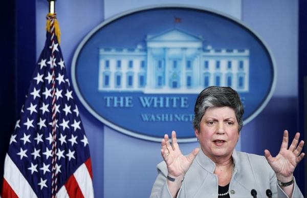 Homeland Security Secretary Janet Napolitano discusses looming budget cuts