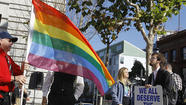 WASHINGTON -- The Supreme Court set the stage Friday for a historic decision on gay rights, announcing it would hear appeals of rulings striking down California's Proposition 8 and the federal law denying benefits for legally married same-sex couples.