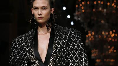 Paris Fashion Week fall 2013: Balmain review