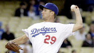 On Thursday, the last of the Dodgers' 2013 starting pitching club made his first appearance.