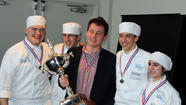 Glenbard South student Jared Dollinger is a member of the state champion high school culinary team representing Technology Center of DuPage (TCD) at the 12th Annual Illinois ProStart Invitational. The Illinois Restaurant Association Educational Foundation hosted the event. Additional TCD team members from other high schools include Julia Matiradonna, Zachary Molokie and Benjamin Kitchen. All are students in TCD's Culinary, Pastry Arts & Hospitality Management program.