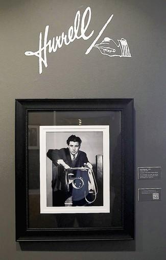 "A self-portrait under his classic Hollywood-style signature opens the ""George Hurrell: Laguna to Hollywood"" show at the Laguna Art Museum."