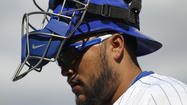 MESA, Ariz. — Whenever new Cubs catcher Dioner Navarro would go home questioning whether he still belonged in the big leagues during his struggles the last three seasons, his wife, Sherley, liked to remind him of his baseball claim to fame.