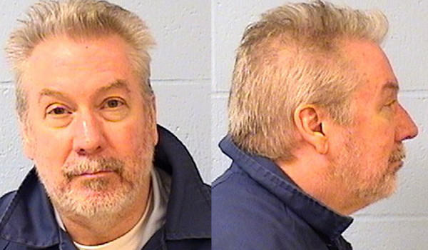 Drew Peterson's Illinois Department of Corrections photos.