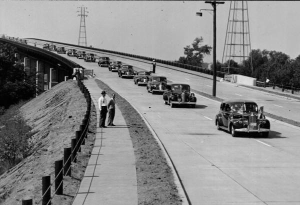 On Sept 5, 1942, the first cars are assessed a 10-cent toll on the newly opened Charter Oak Bridge. The last highway toll in Connecticut was collected on April 29, 1989.