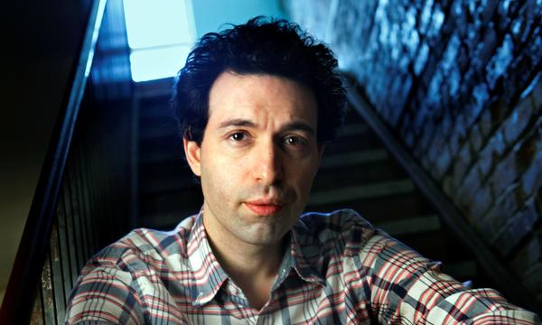 "Alex Karpovsky has two movies coming out that he wrote, directed, and stars in. One is called ""Red Flag,"" and the other ""Rubberneck."""