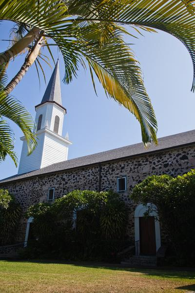 The Mokuaikaua Church in Kailua is among the oldest Christian houses of worship in the islands.