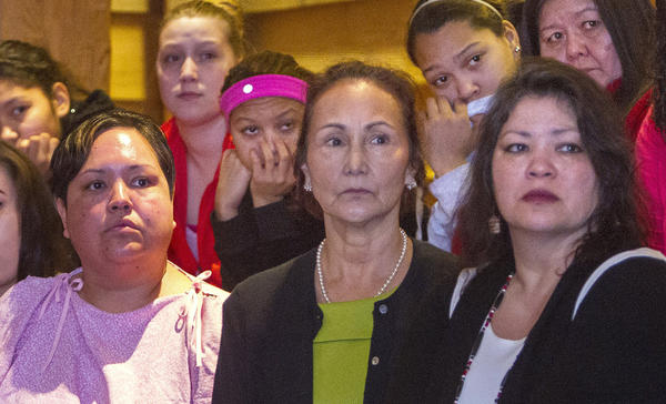 Native American Women recently attended a healing circle on the Tulalip Reservation to discuss violence against women and to promote the passage of the Violence Against Women Act.