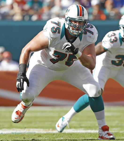 The Dolphins view Nate Garner as a viable option to start at right tackle.