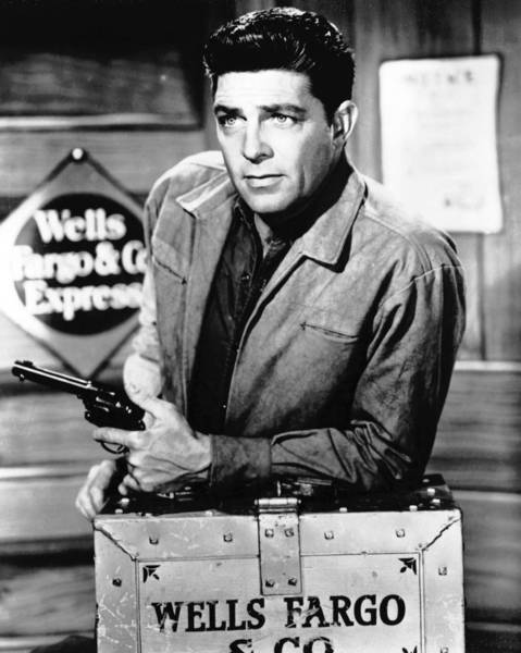 "Dale Robertson starred as stagecoach troubleshooter Jim Hardie in the TV series ""Tales of Well Fargo"" from 1957 to 1962. He was 89."