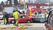 A man from Highwood was killed Thursday afternoon in a multiple<strong><em>-</em></strong><em></em>vehicle collision in Northbrook at the intersection of Skokie Boulevard and Dundee Road.