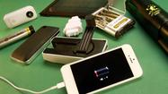 New chargers power your phone on the go