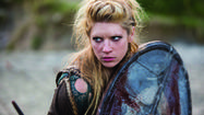 Lagertha kicks butt in History's 'Vikings'