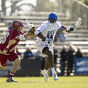 Duke midfielder Myles Jones