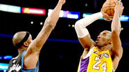 <strong>Lakers 116 - Timberwolves 94 (end of regulation)</strong>