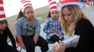 SEELEY — Students at Seeley Union Elementary School celebrated Reading Across America with books, snacks and crazy hats here Thursday.