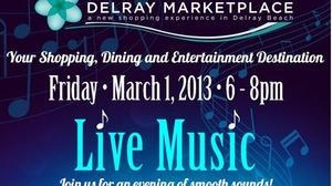 Live music at Delray Marketplace Friday, Spider-Man stops by Saturday