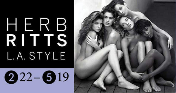 Herb Ritts exhibit at Ringling