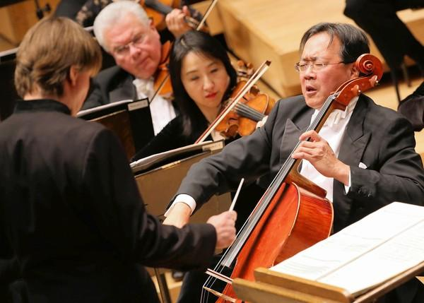 Yo-Yo Ma with the CSO