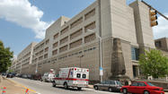 Four hospitalized after stabbing at city detention center
