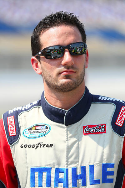 NASCAR Nationwide Series driver Jeremy Clements.