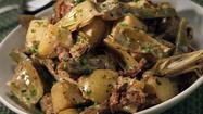 Recipe: Artichoke, bacon and new potato stew