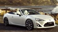 Toyota releases convertible concept of GT86 ahead of Geneva