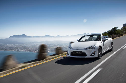 Toyota will bring the FT-86 convertible concept to the Geneva Motor Show. It's a convertible version of the Toyota GT86, which is sold in the U.S. as the Scion FR-S. Power remains the same at 200 horsepower, while pricing hasn't been announced.