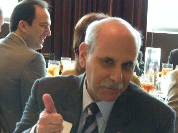 Former Sheriff Al Lamberti. Laywer lobbyist Justin Sayfie in backgound
