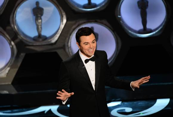 Host Seth MacFarlane  at the 85th annual Academy Awards.
