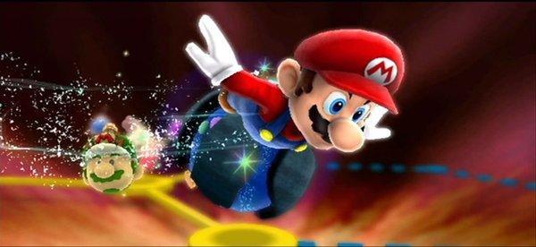 "Video games - an image from ""Super Mario Galaxy 2"" is shown - are found in a new study to have positive effects on young dyslexic readers."
