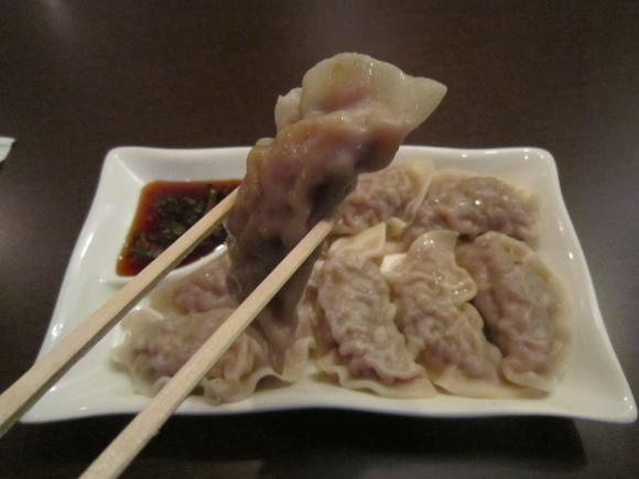 Pork dumplings at Bamboo Asian Cuisine