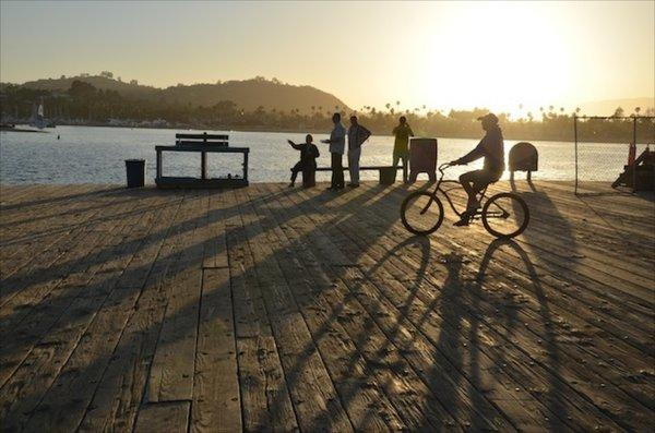 """Santa Barbara's Stearns Wharf is among hundreds of Southern California attractions covered by the L.A. Times app and e-book """"SoCal Closeups."""""""