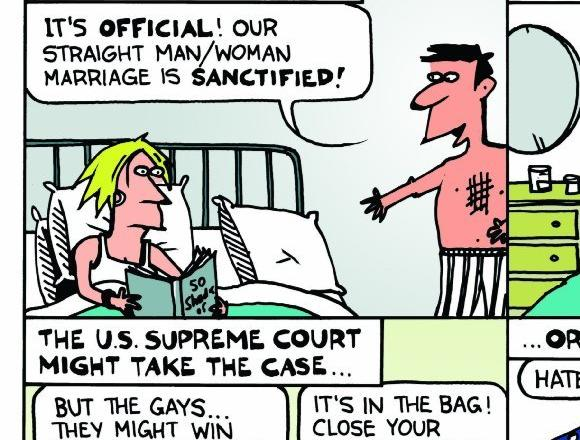 Rall cartoon on Prop. 8
