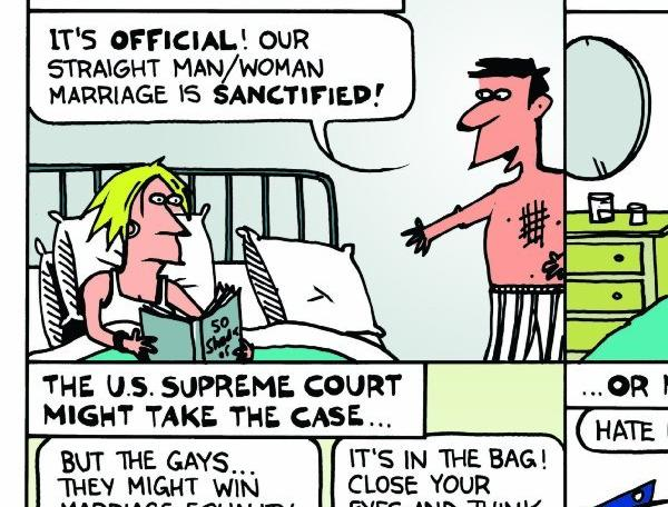 The Obama administration has weighed in on Proposition 8.