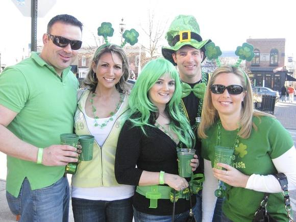Canton Irish Strollers at last year's event.