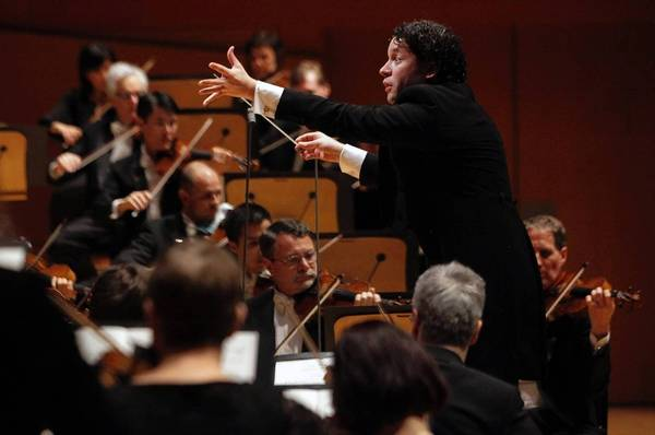 Gustavo Dudamel also led L.A. Philharmonic in works by Debussy and Vivier in a program they'll tour.