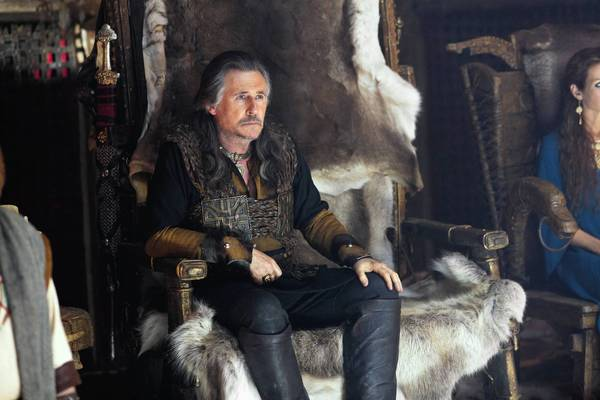 "Gabriel Byrne stars in ""Vikings."""
