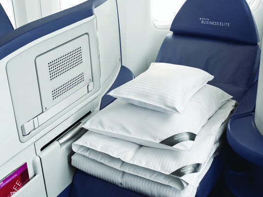 Delta Air Lines Is Upgrading Its Pillows And Comforters To Help Pengers Get A Good Nap