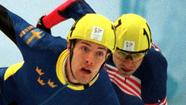 Three-time Olympic speedskater Andy Gabel apologized Friday for alleged sexual misconduct more than a decade ago with a 15-year-old female teammate when he was in his 30s.