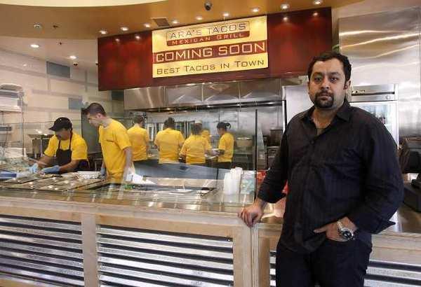 Owner Steve Iskenderian is opening Ara's Tacos in the same building as Zankou Chicken in Glendale.