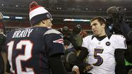 Tom Brady, Joe Flacco