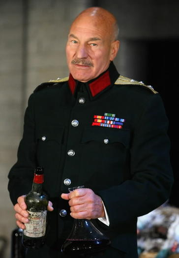 Picture:  Patrick Stewart in 'Macbeth'