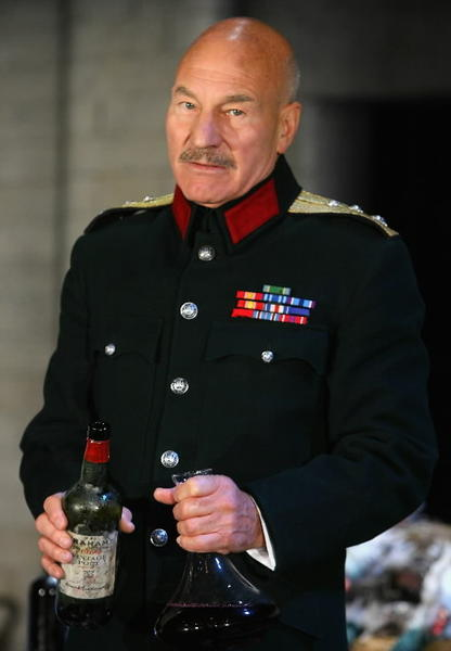 "Patrick Stewart played the title role in ""Macbeth,"" which had a Broadway run in 2008."