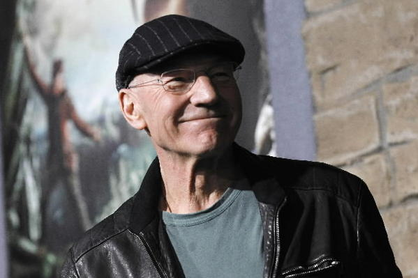 Patrick Stewart, pictured in Hollywood on Feb. 26, 2013, will talk about Shakespeare and his life on the stage in a program presented by Orlando Shakespeare Theater.
