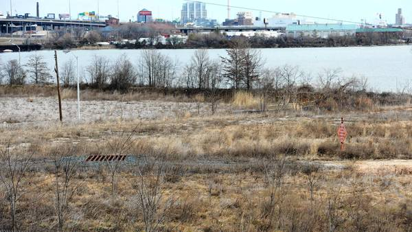 Former industrial land that Patrick Turner planned to turn in to Westport Waterfront remains undeveloped.