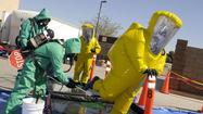 GALLERY: Fire Haz Mat Training
